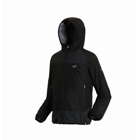 Regatta Volcanics II Jacket Kids Black/Black